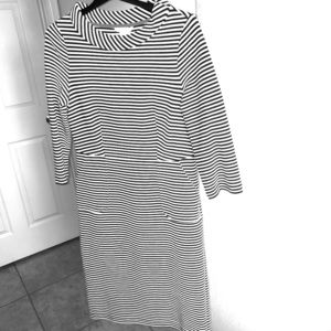 Boden - black and white dress US 4L